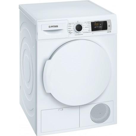 Pitsos WTP700D8 Dryer 8Kg  Α+ HeatPump Technology | SimosViolaris