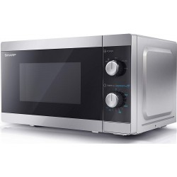 Sharp YC-MS01ESS06 Φούρνος Μικροκυμάτων 20L 800W | SimosViolaris