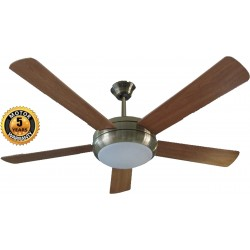 Elegant Alexander Ceiling Fan in Brown Color | SimosViolaris