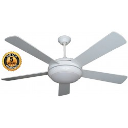 Elegant Alexander Ceiling Fan in White Color | SimosViolaris