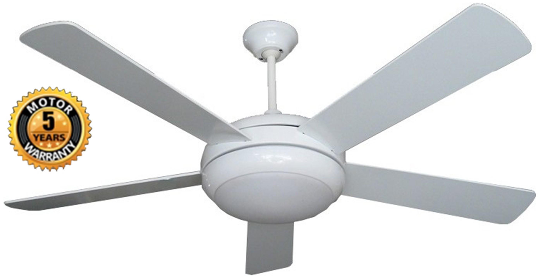 Alexander Ceiling Fan In White Color