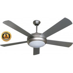 Elegant Alexander Ceiling Fan in Silver Color | SimosViolaris