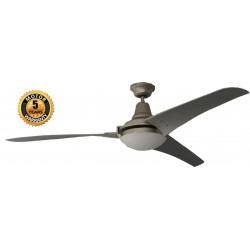 Elegant Orlando Ceiling Fan in Silver Color | SimosViolaris