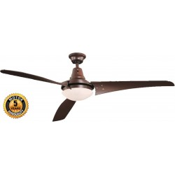Elegant Orlando Ceiling Fan in Brown Color | SimosViolaris