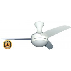 Ceiling Fan 44'' Elegant Orion in White Color | SimosViolaris