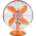 Adam DK-13C Orange Metal Retro Table Fan 12''