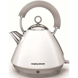 Morphy Richards 102031 White Traditional Kettle