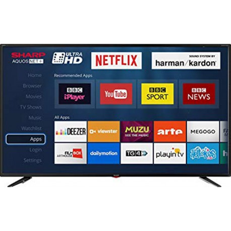 Sharp LC-49UI7352K 4K Led Smart TV 49'' | SimosViolaris