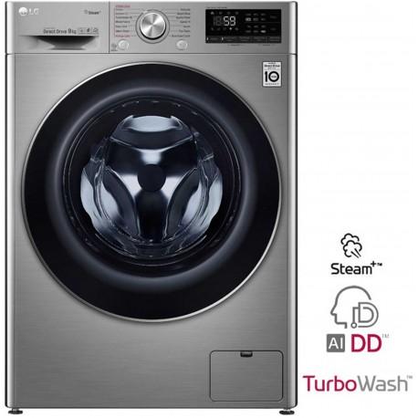 Lg F4WV709P2T Washing Machine 9kg , Turbo Wash, AI DD | SimosViolaris