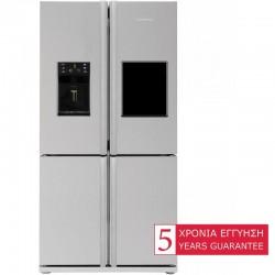 Blomberg KQD1360X 4-Door SideBySide Refrigerator