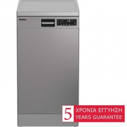 Blomberg GSS28020X DishWasher 45cm in Inox Color| SimosViolaris