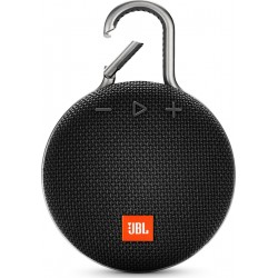 Jbl Clip 3 Black Waterproof Bluetooth Speaker | SimosViolaris