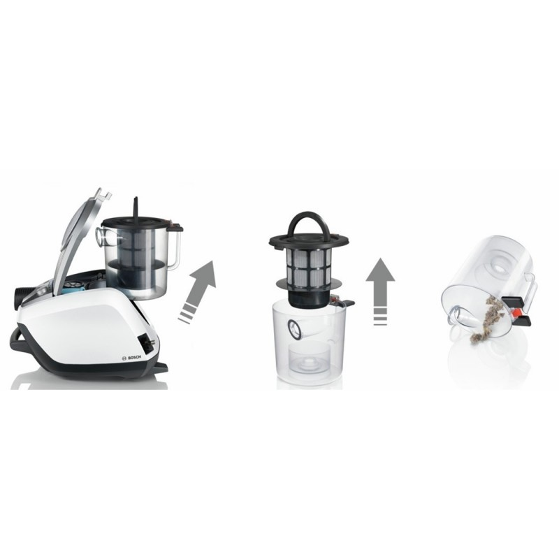 Bosch Relaxx X Prosilence Plus Vacuum Cleaner Bgs5320r