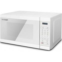 Sharp YC-MG02E-C Microwave Pearl White | SimosViolaris