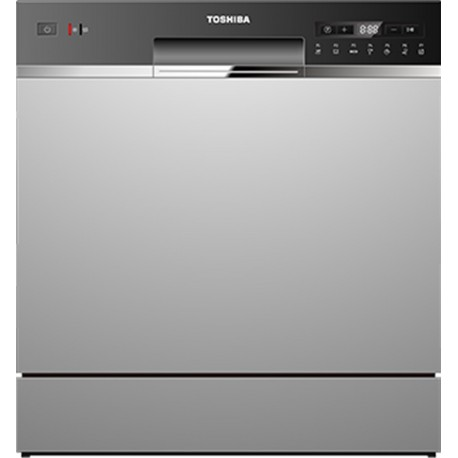 Toshiba DW-08T1EE(S) Compact DishWasher