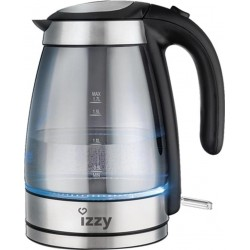 Izzy 12810 Elite Mirror Glass Kettle 223210 | SimosViolaris