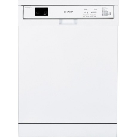 Sharp QW-HY15F492W Dishwasher  A++ | SimosViolaris