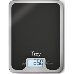 Izzy Digital Kitchen Scale 10kg Black Mirror | SimosViolaris