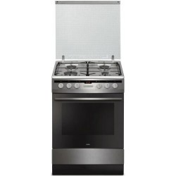 Electric Gas Cooker Amica 6017GE2.33EHZPT 62L 10 Functions | SimosViolaris