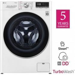 Lg F4WV708P1 Washing Machine 8kg , Turbo Wash, AI DD | SimosViolaris