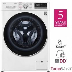 Lg F2WV5S8S0E Washing Machine 8.5kg , Turbo Wash, AI DD   SimosViolaris