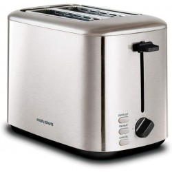 Morphy Richards Brushed Equip 2 Slice Toaster 222067 | SimosViolaris