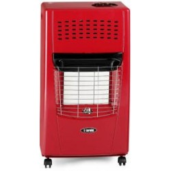 Bartolini Gas Heater 4200W Red Color Bella-Y | SimosViolaris