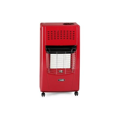 Bartolini Bella-R Gas Heater Red Color | SimosViolaris