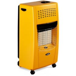 Bartolini Gas Heater 4200W Yellow Color Bella-Y | SimosViolaris