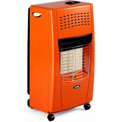Bartolini Gas Heater 4200W Orange Color Bella-OR | SimosViolaris