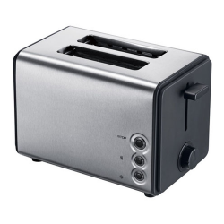 Matestar THT-8011 2 Slice Toaster in Inox Color | SimosViolaris