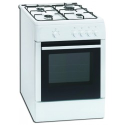 Zanker F6402ZGRW-2 Gas Cooker