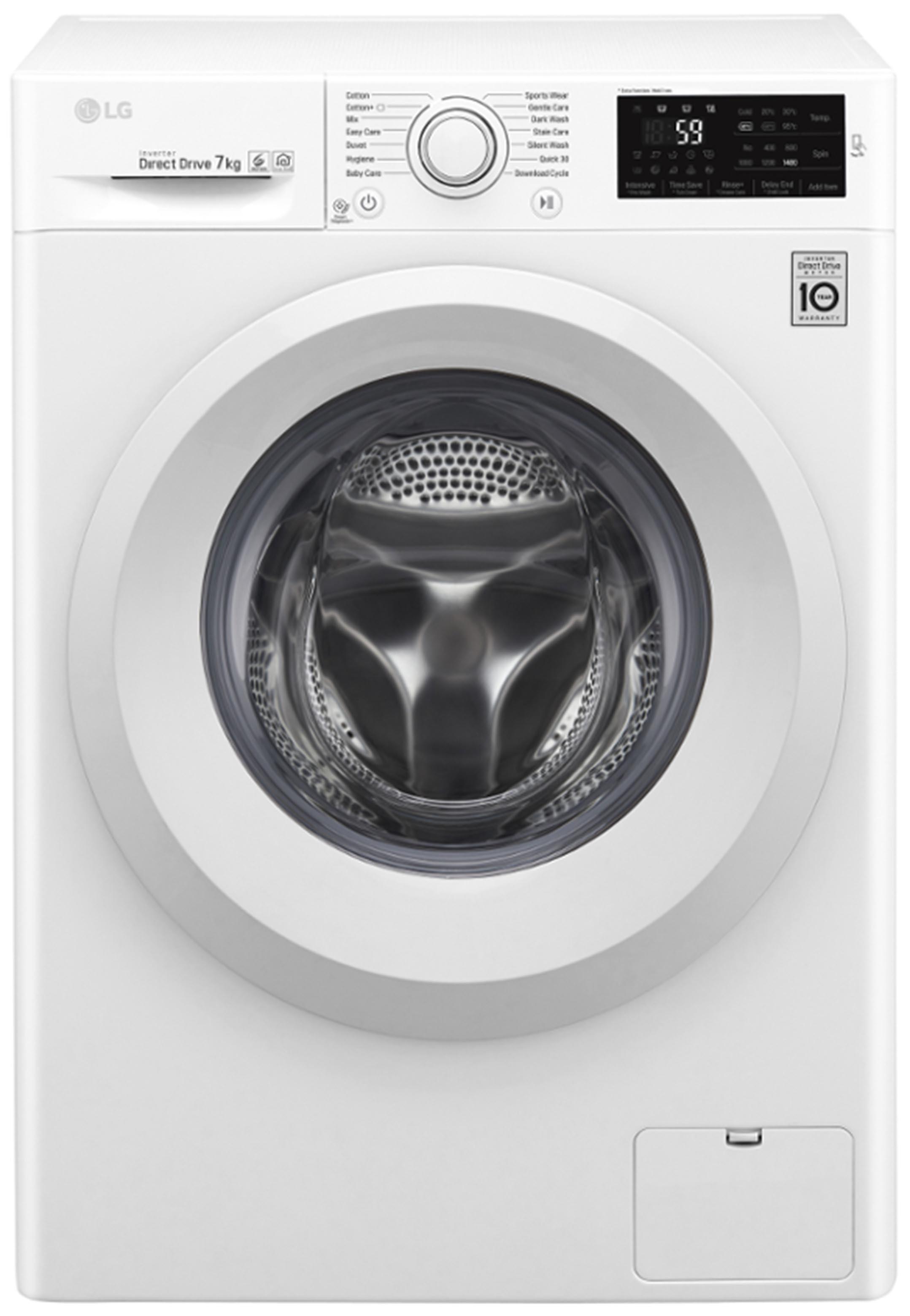 Lg Washing Machine 7kg 6 Motion DirectDrive F4J5QN3W   SimosViolaris