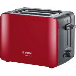 Bosch Toaster ComfortLine Series in Red Color TAT6A114 | SimosViolaris