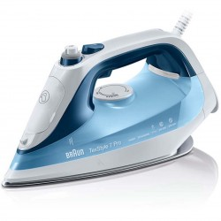 Braun Steam Iron TexStyle 7 Pro SI 7062 Blue 2600W| SimosViolaris