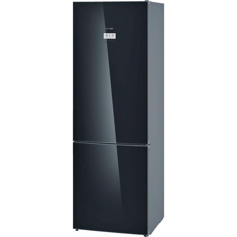 Bosch Refrigerator Kgf49sb40 A 70cm In Black Glass
