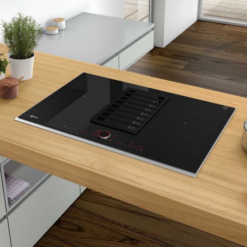 Neff T58ts6bn0 Induction Hobs With Ventilation System