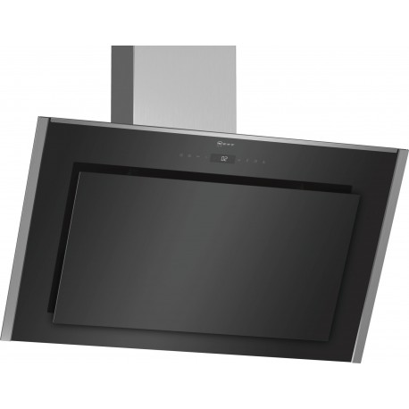 Neff D95IMW1N0 Decorative CookerHood in Black Glass
