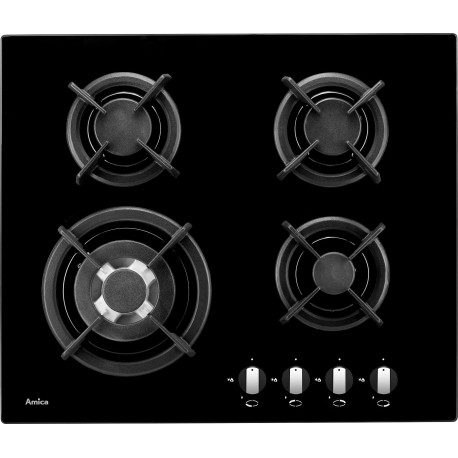 Amica PGCZ6411 Gas Hobs on Glass