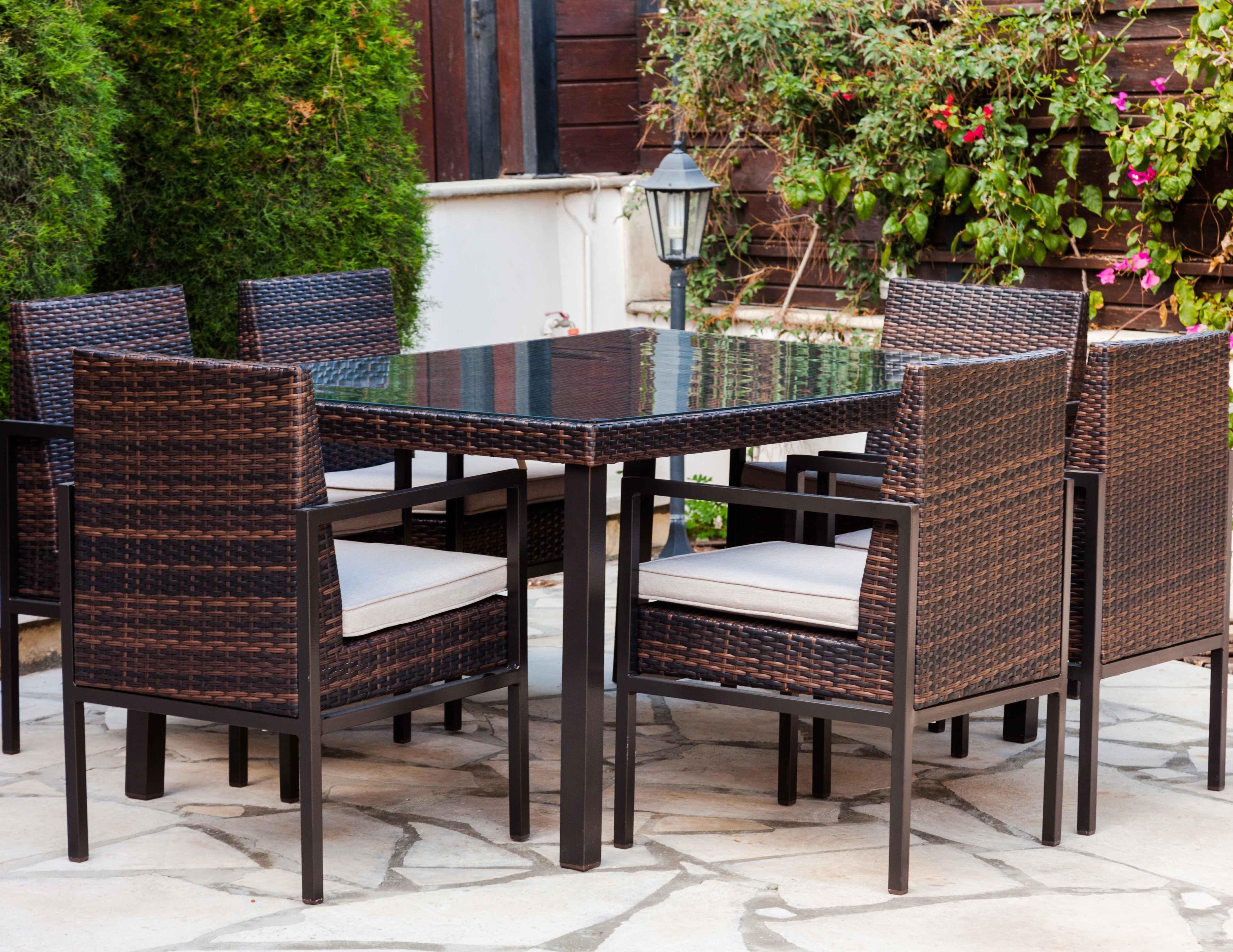 Sydney dining set table chairs garden furniture simosviolaris