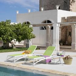 Atlantico Sunlounger - SunBed - Garden Furniture | SimosViolaris