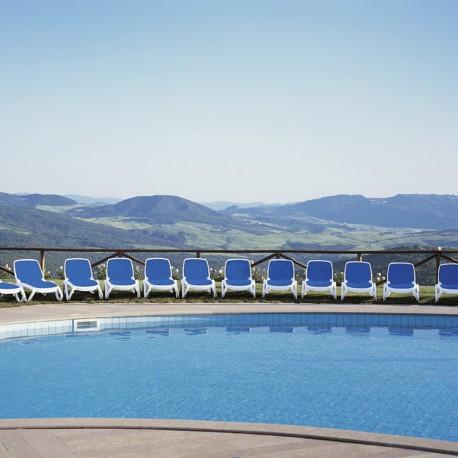 Omega Sunlounger - SunBed - Garden Furniture | SimosViolaris