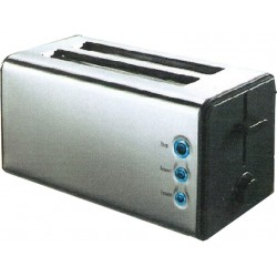 Matestar THT-6011 4 Slice Toaster in Inox Color | SimosViolaris