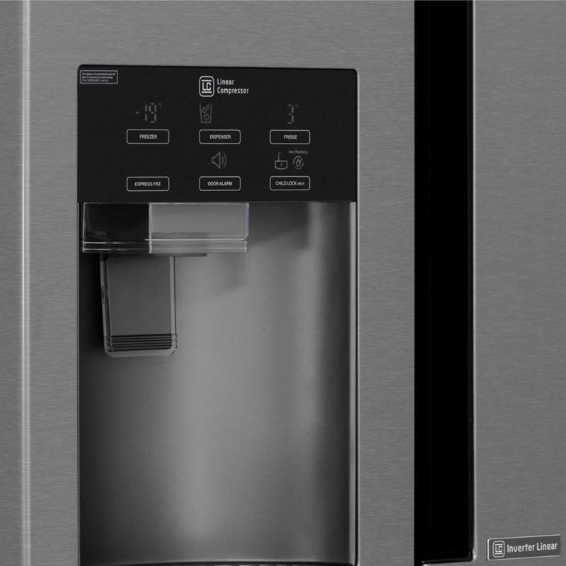 lg gsl361icez side by side refrigerator a 601l. Black Bedroom Furniture Sets. Home Design Ideas