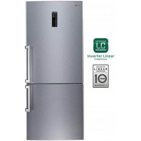 Lg Refrigerator Gbb548nsqfe A Inox Antifinger