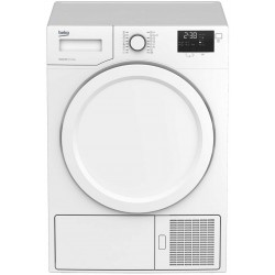 Beko DE8333PA0 Dryer 8Kg HeatPump A+ AutoDry | SimosViolaris