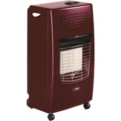 Bartolini Bella-BR Gas Heater in Burgundy Color | SimosViolaris