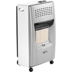 Bartolini Bella-SW Gas Heater in Silver White Color | SimosViolaris