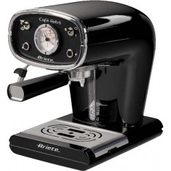 Ariete 1388 Cafè Retro Black Espresso Machine | SimosViolaris