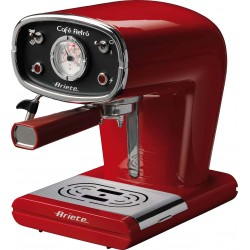 Ariete 1388 Cafè Retro Red Espresso Machine | SimosViolaris